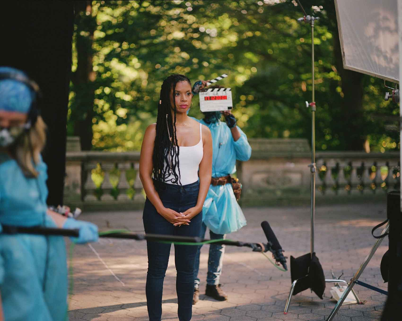On set: Between the World and Me